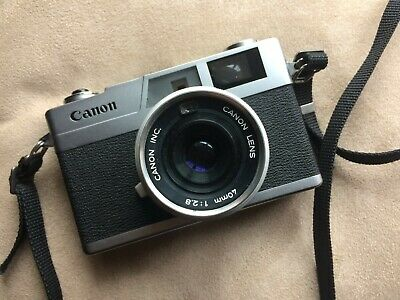 CANON Canonet 28 Rangefinder 35mm Camera with Canon 40mm f/2.8 Lens