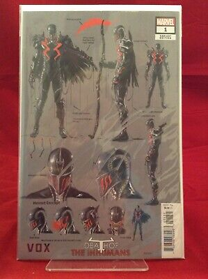 Death Of Inhumans #1 2018 Marvel Comics Kaare Andrews Concept Variant