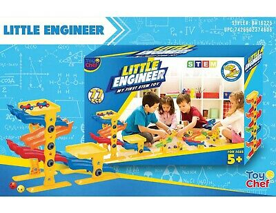 Toy science Learning  engineer stem  built  play set 77 pcs toy chef