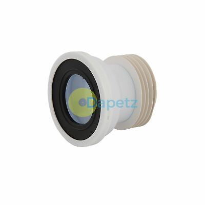 Straight Pan Connector Strong Polypropylene Construction 110mm Dia