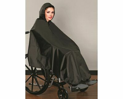 AdirMed Wheelchair Rain Cover Hooded Waterproof Wheel Chair Rain Poncho