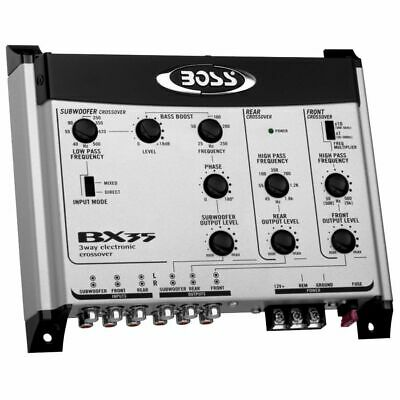 Crossover Boss Bx35 Per Impianto Audio Auto Car Stereo Elettronica Controllo