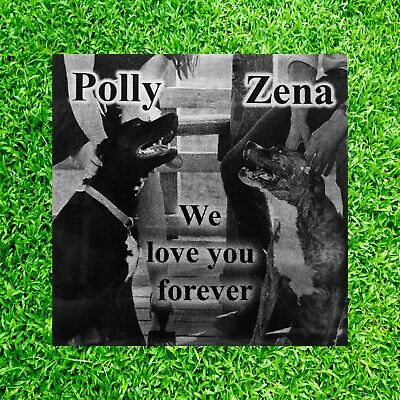 6x6 Photo Pet Headstone tombstone Laser Engraved on the Grave Marker