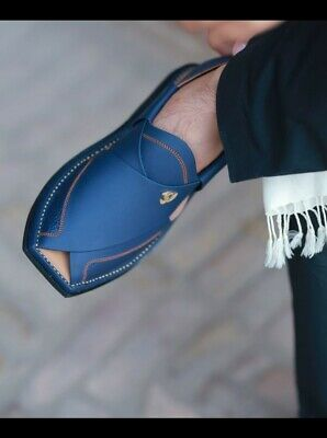 1e93f67dcfb8 IMRAN KHAN STYLE Peshawar pure leather Sandal from Pakistan -  43.00 ...