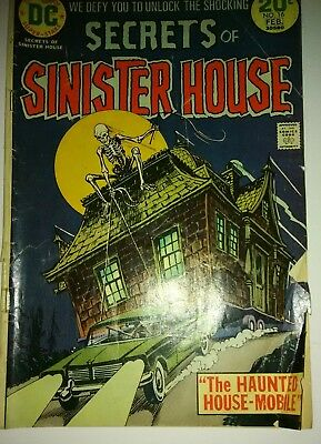 DC Comics Secrets of Sinister House Collectible Vintage Comic
