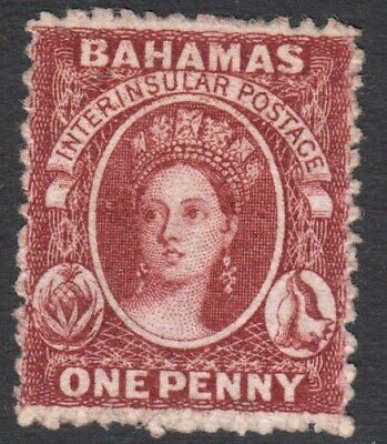 Bahamas 1862 1d MINT Lightly Hinged SG 17 Cat £750 ($970)