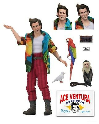 "Ace Ventura: Pet Detective - 8"" Clothed Action Figure - Ace Ventura - NECA"