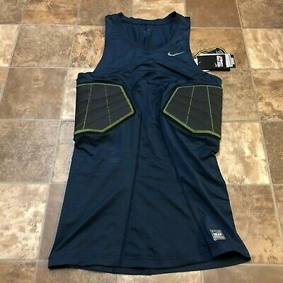 51d0274548f183 Nike Pro Combat Elite Hyperstrong Compression Top Mens Basketball Tank XLT  NEW