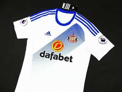 NEW SHIRT SUNDERLAND A.F.C _ ADIDAS AWAY 2016/17 JERSEY FOOTBALL TRIKOT _ s:M
