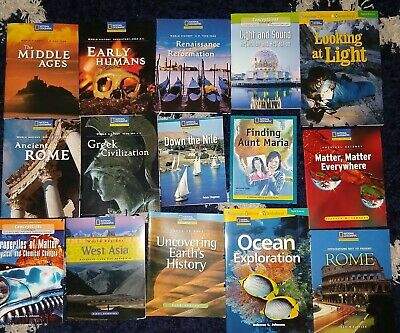 National Geographic Theme Set Readers Lot of 12 Books **.99 per book!**