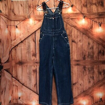 8000c5e8 Vtg Tommy Hilfiger Overalls Bibs XS Spell Out Straps Suspenders Carpenter  Loop