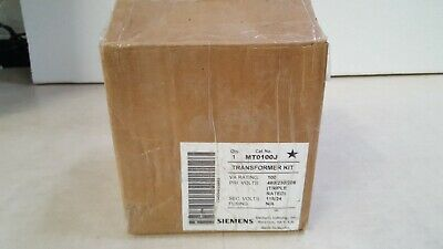 Siemens MT0100J Industrial Control Transformer, Domestic, 208/230/460