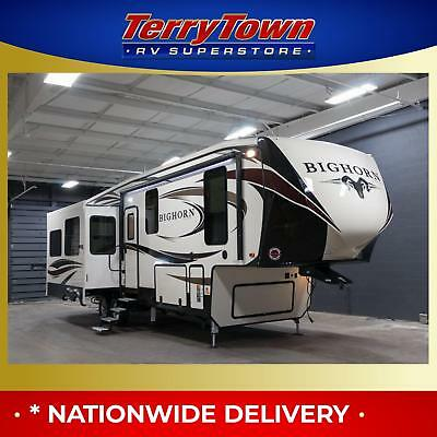 2018 Heartland Bighorn 3270RS 5th Wheel Leftover Closeout RV Luxury