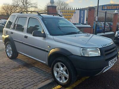 Land Rover Freelander 2.0 TD4 2002. Auto, low miles for the year.