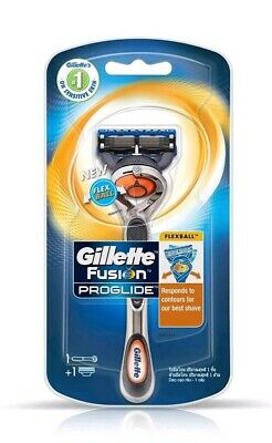 Gillette Fusion Proglide Flexball Razor Handle and Blade- Fits All Fusion Blades