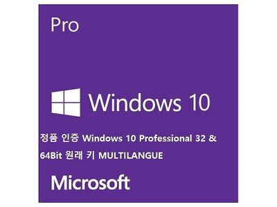 Win 10 Professional Version Key License