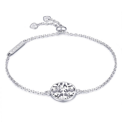 0aca839379bf WISHMISS Women 925 Sterling Silver Tree of Life Charm Family Tree Bracelet  for