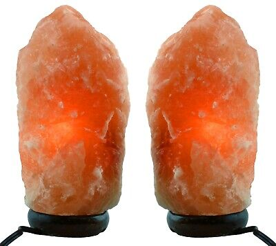 Himalayan Natural Salt Lamp - TWO Pack - Multiple Sizes - FREE SHIPPING!!!