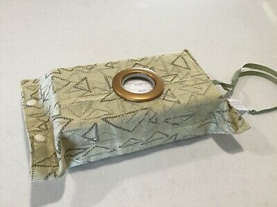 Hang Anywhere Tissue Box Holder With A Circle Opening, Mustard Tone Colour,(918)