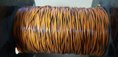 Teledyne Thermatics Black And Orange 30Awg Wire (100Ft)