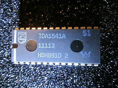 NOS (New Old Stock) Philips TDA1541A S1 Crown DAC IC Dual 16-bit D/A Converter