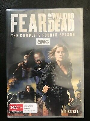 FEAR THE WALKING DEAD SEASON 4 DVD (BRAND NEW and SEALED)