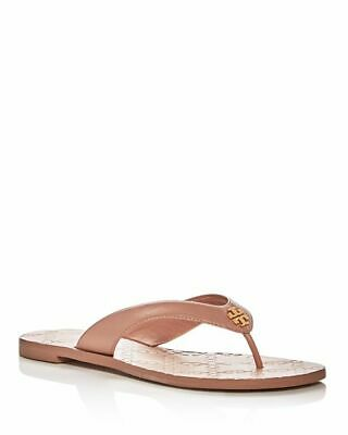 3db94765cfc5 TORY BURCH MONROE Leather Thong Sandals Light Makeup Size 7 New  138 ...