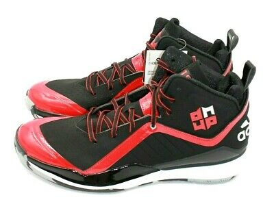 new product 5535e a6759 ADIDAS D Howard 5 Mens Basketball Shoes - BlackRed - Size 9.5 - NEW