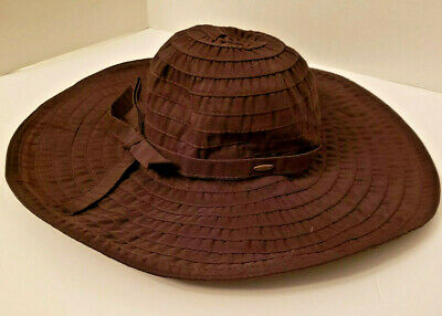 d50c2c71111 SCALA PACKABLE SUN Hat W  Matching Ribbon And Brim One Size -  24.99 ...