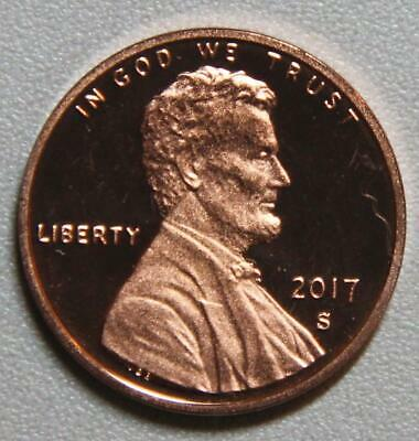 2017 S Lincoln Shield Cent Proof