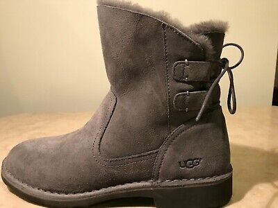 2a4dc430895 UGG AUSTRALIA WOMEN'S Naiyah Winter Boot Pencil Lead Grey Size 9.5 ...
