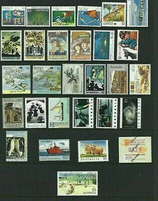 MINT AUSTRALIAN SPECIMEN STAMP COLLECTION x 29 DIFFERENT ISSUES MUH