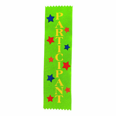 PARTICIOATION AWARD RIBBONS,KIDS CARNIVALS, PARTICIPATION,CLUBS - 12pk