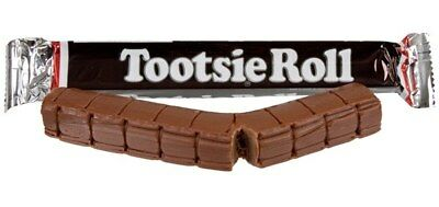 4 x USA TOOTSIE ROLLS Chewy chocolate Candy 63.8g each, lollies