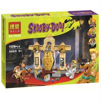 Scooby Doo The Mummy Museum Momia Museo Educational Building Toy Sets Blocks DIY