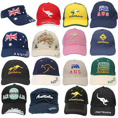Mens Cap Unisex Hats Baseball Cotton Australia Day Australian Flag Souvenir
