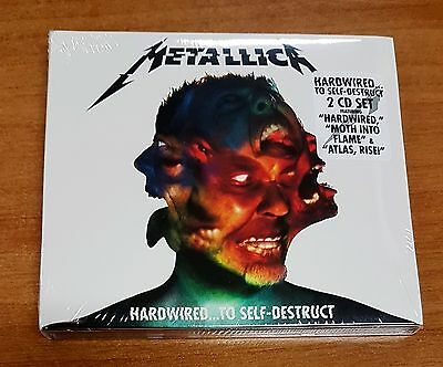 Metallica Hardwired...To Self-Destruct  [2 CD] 2017 - NUOVO, SEALED, SIGILLATO