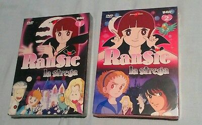2 Box dvd Ransie la strega serie completa originale yamato video MISB