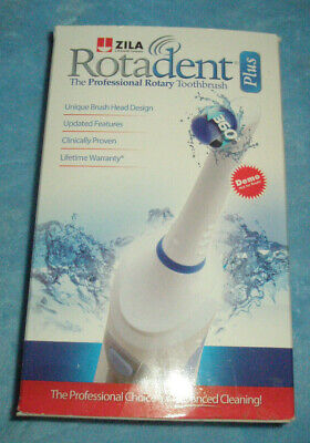 ROTADENT PLUS new in box 360 professional ROTARY electric TOOTHBRUSH