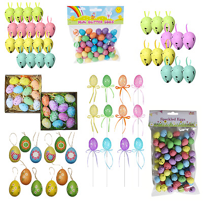 Easter Decorated Eggs, Great for Egg Hunts, Arts and Crafts - Choose Design