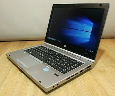 HP ProBook 8470p Windows 10 Laptop, Intel Core i7 3rd 2.9GHz, 4GB, 500GB HDD