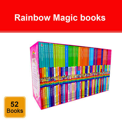 Rainbow Magic Series 42 books collection set Colour Weather Party Jewel Fairies