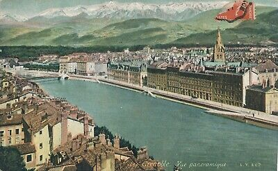CPA - France - (38) Isère - Grenoble - Vue Panoramique