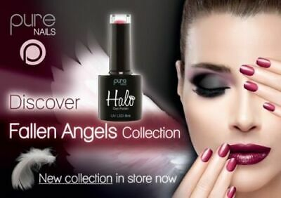 Halo Uv Gel Nail Polish by Fallen Angels 8ml Full Range. All Colours Stocked