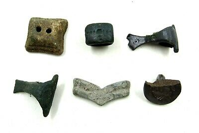 AUTHENTIC LOT OF ANCIENT TO MEDIEVAL BRONZE ITEMS  - j242