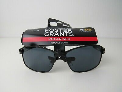 Free Case//Pouch RRP £22.99 Mens Foster Grant Transport Polarised Sunglasses