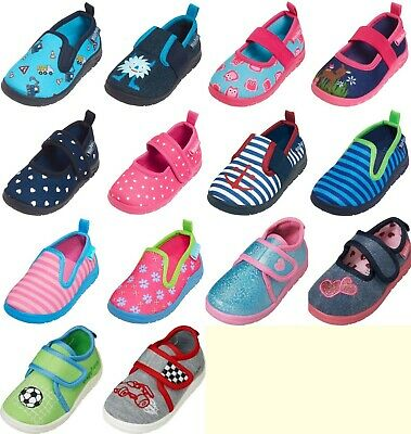 competitive price e53dc 31ad0 PLAYSHOES BABY KINDER Hausschuhe Mädchen Jungen Eule Baustelle Reh Gr. 18  bis 29