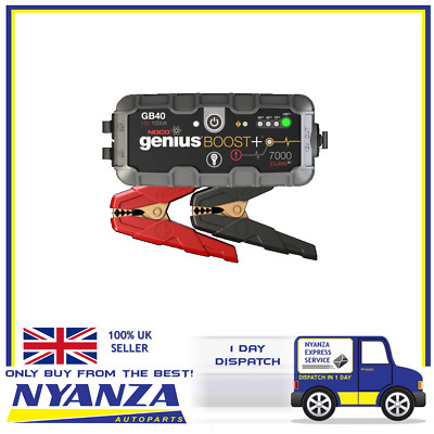 Gb40 Genius Boost + Jump Starter Safely Jump Start A Dead Battery In Seconds