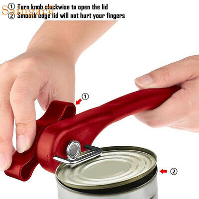 New Multifunction Stainless Steel Safety Side Cut Manual Can Tin Opener Wonderfu