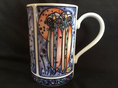 DUNOON~*Rennie Mackintosh Design *~ 1 Coffee / Tea MUG by Joanne Triner -VGC